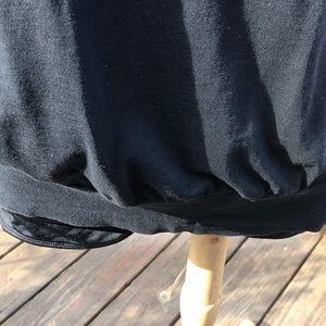 Rebecca Beeson Tops - Rebecca Beeson 100% Cotton black blouson tank top